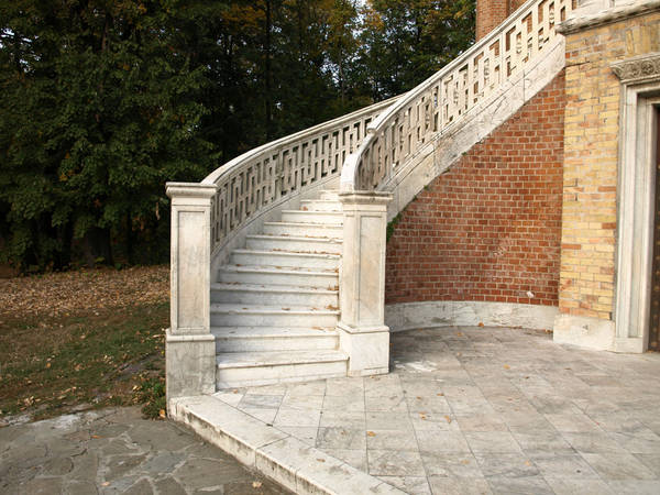 Marble stairs set 03 by dreamlikestock