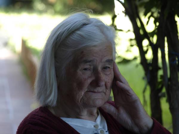 old lady portrait by dreamlikestock