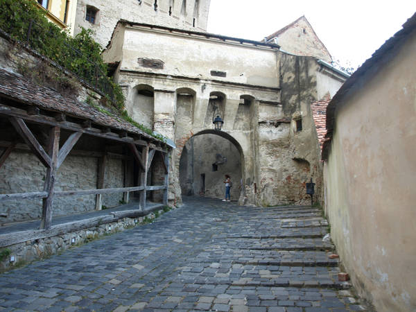 Old city entrance by dreamlikestock