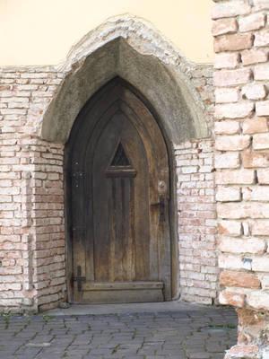 wooden door 2 by dreamlikestock