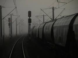 Train tracks 14 by dreamlikestock