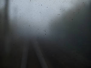 Dirty train window by dreamlikestock