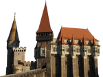 gothic castle PNG by dreamlikestock