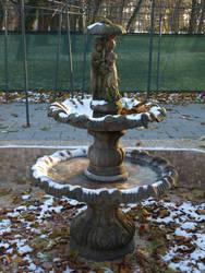small fountain by dreamlikestock