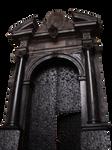 black gates PNG by dreamlikestock