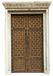 beautiful door and marble frame by dreamlikestock