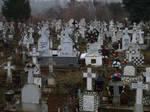 ortodox cemetery by dreamlikestock