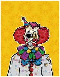 Clown by krstlobrn