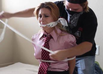 Secretary in Trouble 06 by darkhause