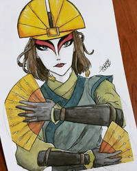 Kyoshi by SuperG0blin