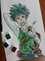 Midoriya by SuperG0blin