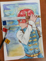 Todoroki by SuperG0blin