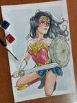 wonder woman by SuperG0blin