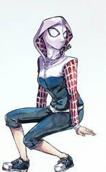 Spider gwen by SuperG0blin