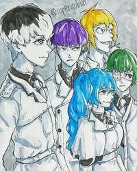 Quinx Squad by SuperG0blin