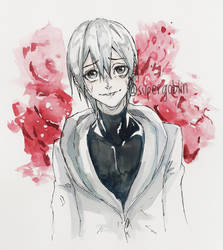 kaneki by SuperG0blin