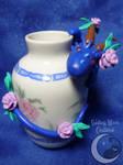 Rosie Vase Dragon by SmilingMoonCreations