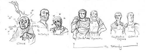 Roman Emperors 6 by Gorpo