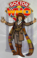 The 4th Doctor by Gorpo