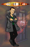 The 9th Doctor by Gorpo