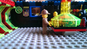 LEGO TARDIS set view 2. by Gorpo