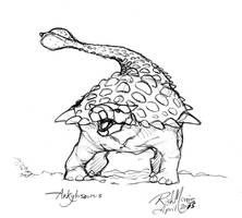 020 Ankylosaurus by Gorpo