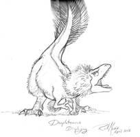 022 Daspletosaurus Displaying by Gorpo