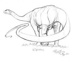 027 Diplodocus by Gorpo