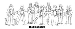 The Nine Scouts by Gorpo