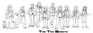 The Ten Scouts! by Gorpo