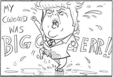 Trumpette takes a Stand. by Gorpo