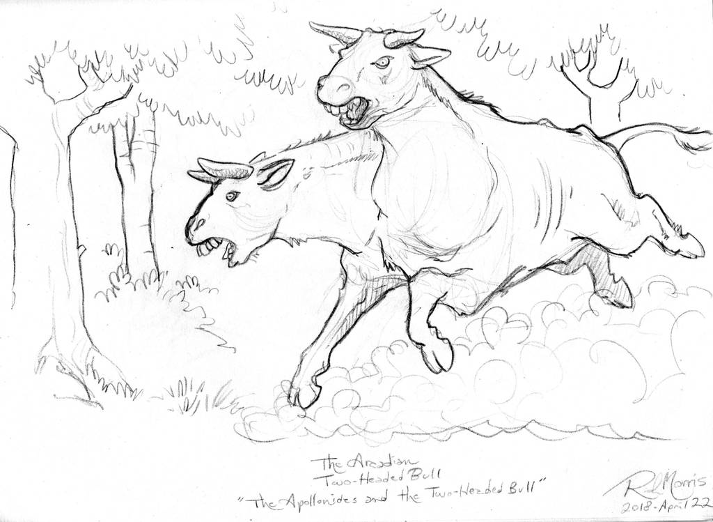 The Arcadian Two-Headed Bull! by Gorpo