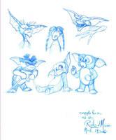 Gremlins concept art by Gorpo
