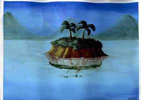 Toon: Faceslap Island by Gorpo