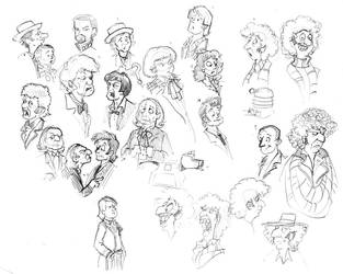 Doctor Who Cartoons by Gorpo