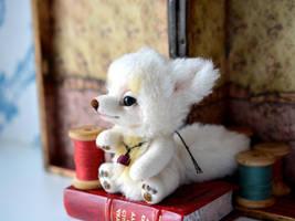 Alicia. White fox by SulizStudio
