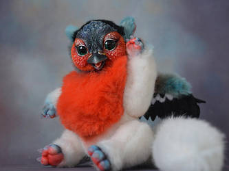 BOO! Bullfinch Griffin by SulizStudio