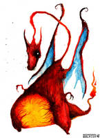Charizard by wednesday-wolf