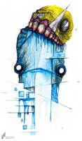 Pac Man - Eater of the Dead by wednesday-wolf