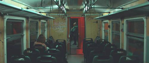 One Point Train by VoltaOmova