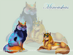 Minoushas for Gothicat World by calie-coco