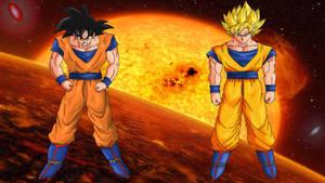 Goku by HayabusaSnake