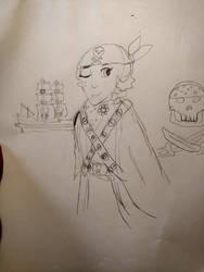 Random doom Elisa Pirates of free seas WIP by MichiganWolf