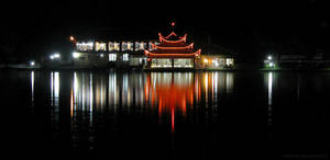 Shangrila Night Lights by OmerTariq