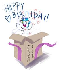 Happy birthday Blue by SquishyCuddle