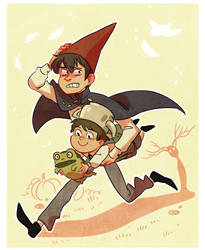 what's over the garden wall ??/?/ by mustachossom