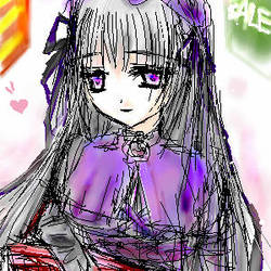 Suigintou Happiness by nyako
