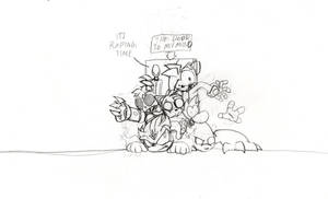 DeviantMEET Sketch 1 Its Raping Time by THEATOMBOMB035