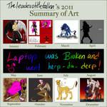2011 Summary by TheLunarEmpress