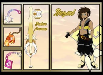 OI Keybladers: Raziel by TheLunarEmpress